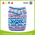 Alvababy Geometric Figure Pattern China Cloth Diapers Baby Cloth Nappy