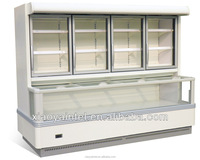 China Little Duck commerical supermarket display case E7 ST.PAWL with CE certification