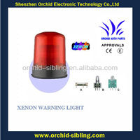 three bolt fixing red xenon rotating beacon