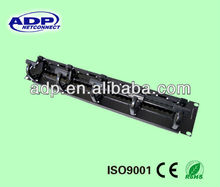 24/48P Cat5e/6 UTP/FTP/SFTP patch panel