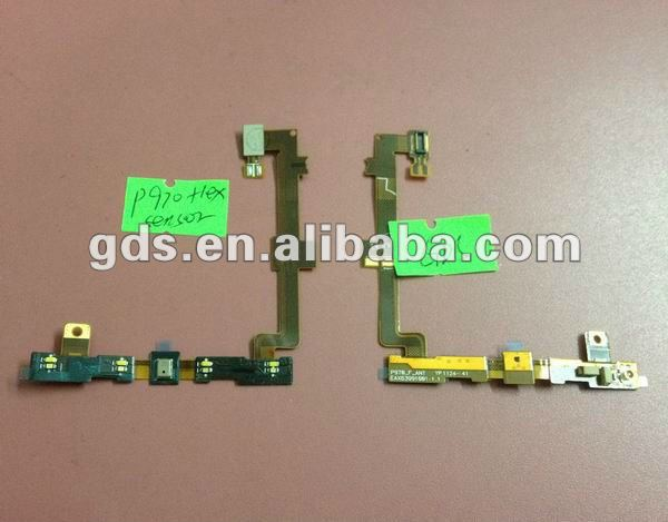 Flex Cable PCB Ribbon with Light Sensor & Microphone for LG Optimus P970 Flex Cable Keypad light Microphone