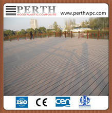 PERTH wood plastic composite outdoor decking tile flooring