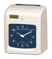 Good Price Clock Display Punch Card Electronic Time Recorder Attendence Management