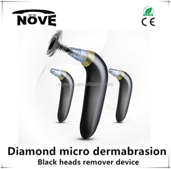 2016 Swept in USA and European market Portable Diamond Microdermabrasion / Dermabrasion machine for skin Peeling