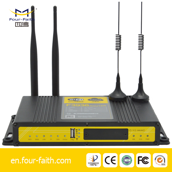 F3936-3836H 4G wifi router with advertising function supports 60 users j
