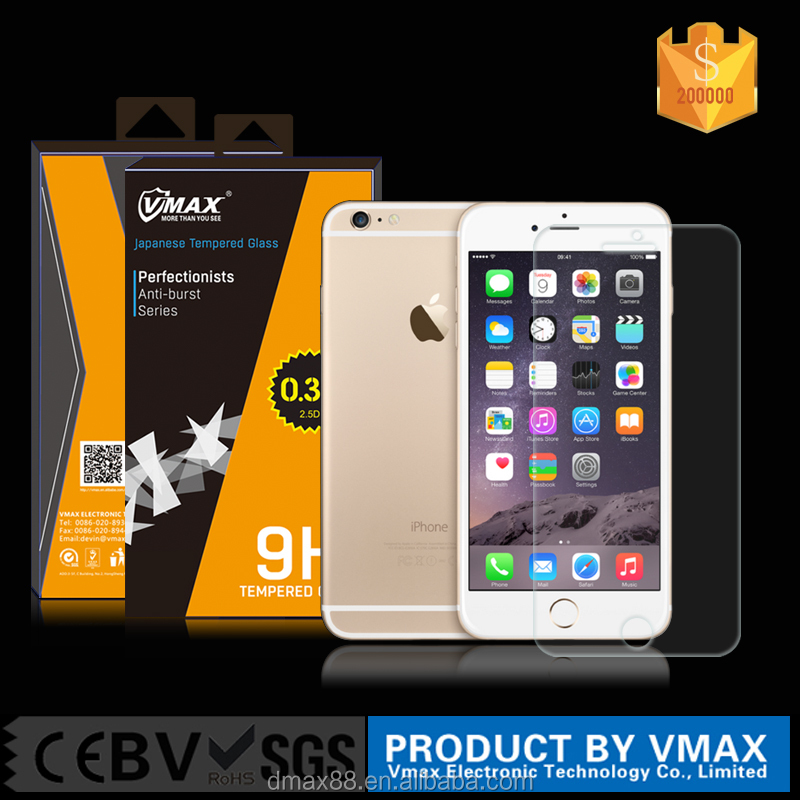 Best selling products 2015 for iphone 6s smart touch full cover tempered glass screen protector new product