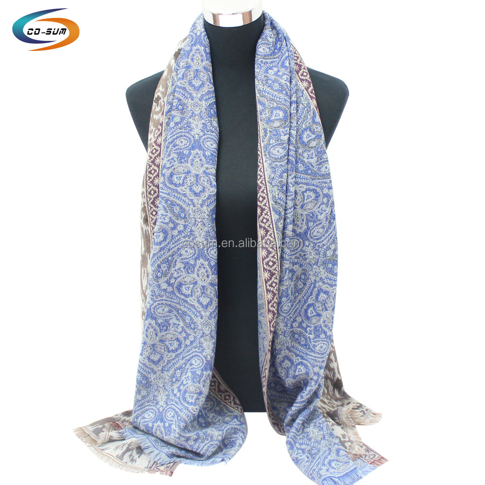 Colorful and noble polyester handmade neck scarf women