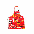Custom made adjustable neck home use polyester apron for cooking and gardening