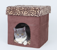 2016 popular durable new design high quality foldable lint pet house