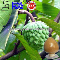 Natural CAS 90045-23-1 4:1 ,10:1,15:1 soursop extract