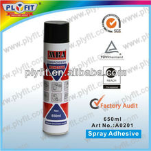 silicone spray adhesive