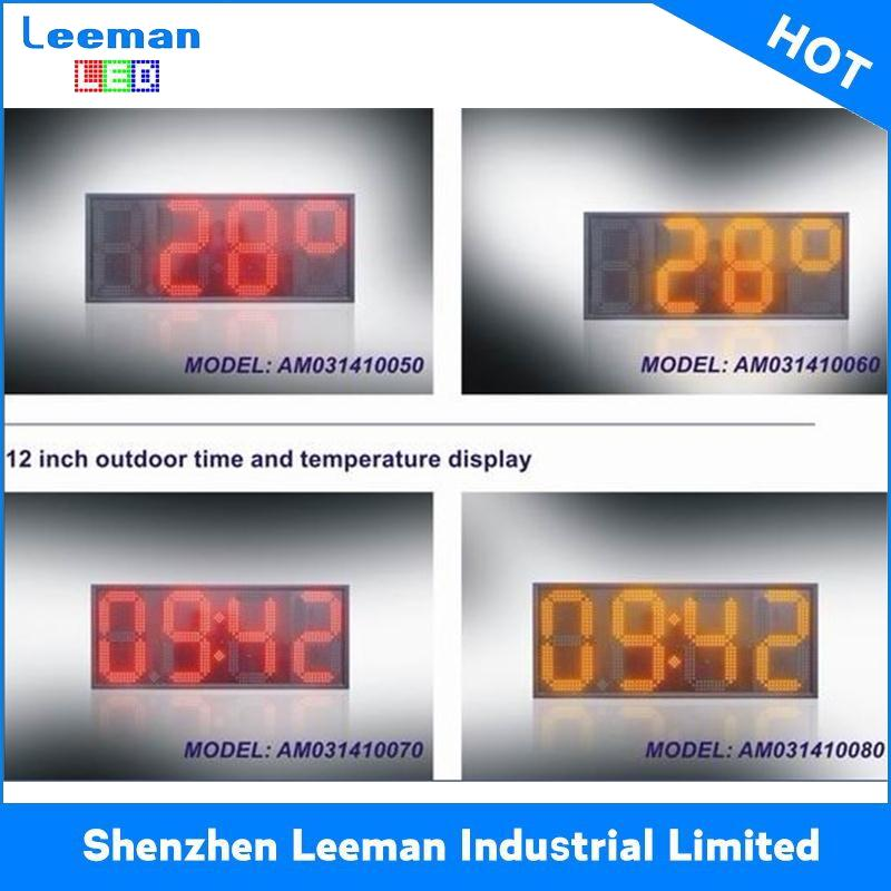 synchronized poe wall clocks p12 outdoor led video display