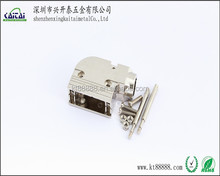 Metal cover D 15 pin connector