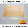 Pvc sheet(golden)
