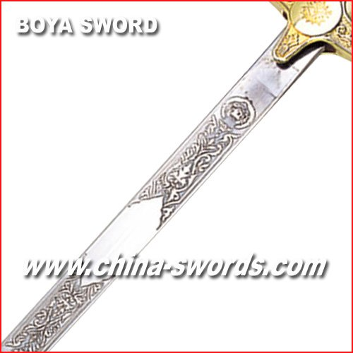 Ceremonial Sword Malaysia army sword Military saber BY048A