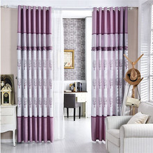 China curtain supplier double swag shower curtain