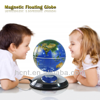 Decorative world globes / led magnetic levitation floating globes / floating and rotating globe