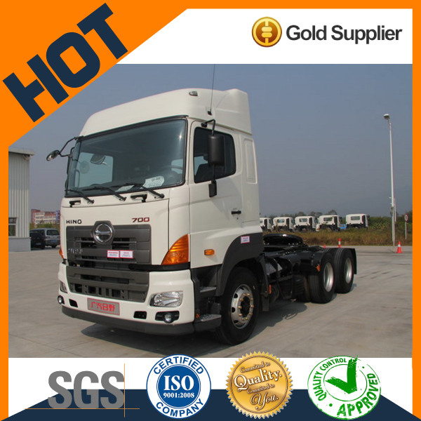 chinese popular Hino 700P 6x4 international tractor truck head for sale