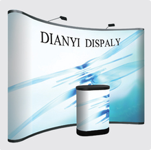 PVC Plastic Material Strong Pop Display Floor Standing Display Stand for Advertising