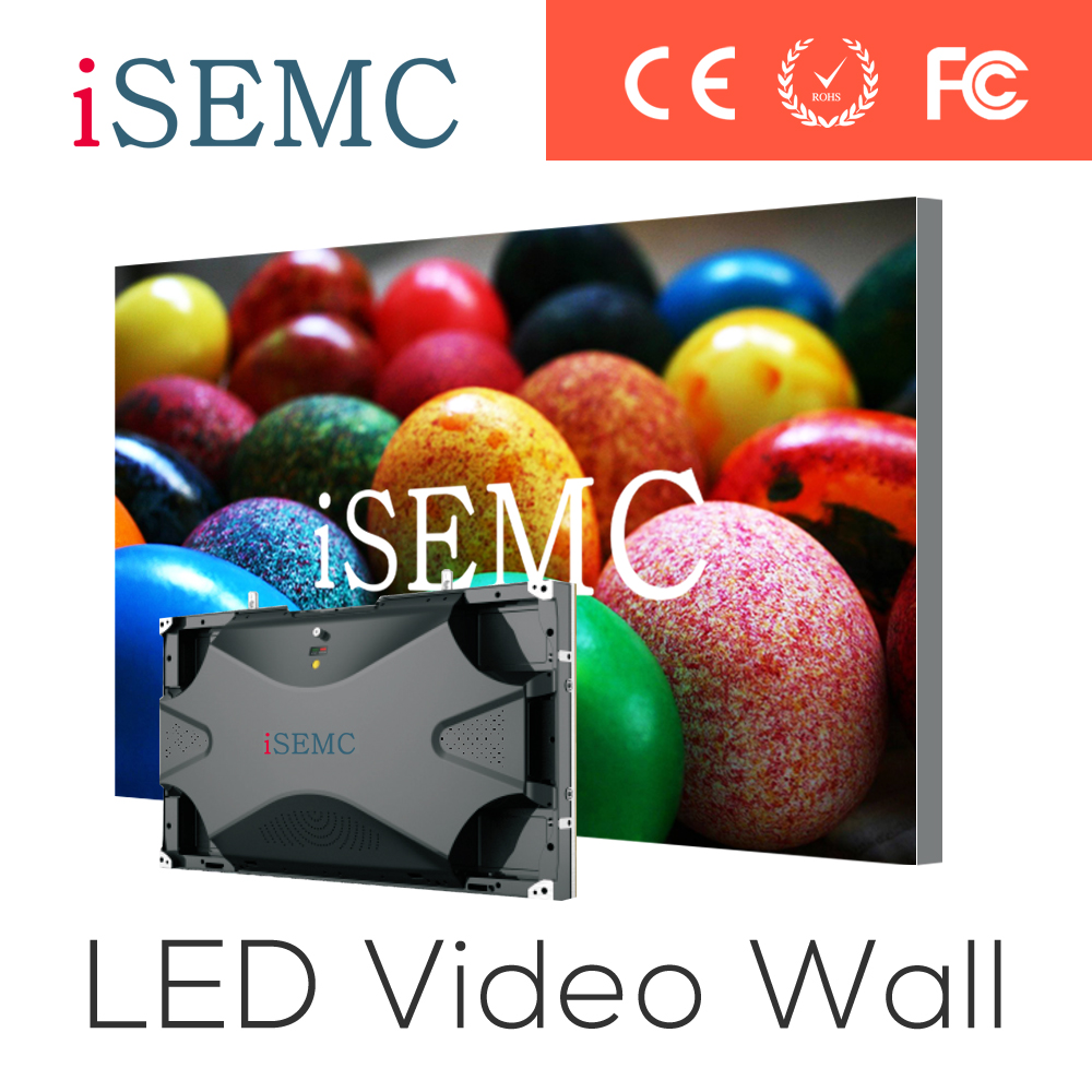 high transparency led display screen video wall HD/hub75 led display controller