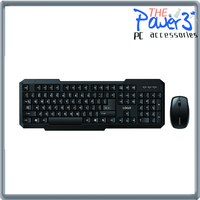 Fashionable design wireless computer keyboard and mouse