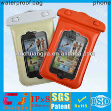 environmental pvc waterproof hard cover case for iphone4/4s