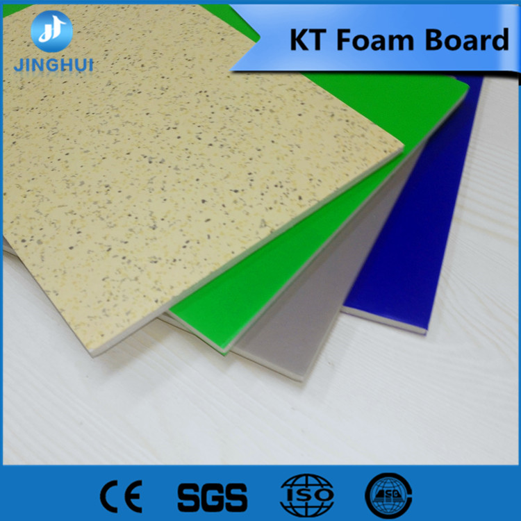yellow compressed foam board For Exhibition