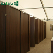 Waterproof compact laminate HPL toilet room partitions