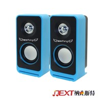 Bass stereo DJ bass AC and DC USB speaker use for computer,notebook,laptop,mobilephone, car,audio interface
