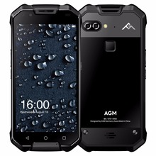 Best Quality Rugged Mobile Phone 4G 5.5inch AMOLED Sun-readable 6GB+64GB Dual 12MP Back Camera Androd 7.1 IP68 Phone