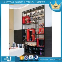 Oem/Odm Made Custom Design Cell Phone Accessories Display Cabinet