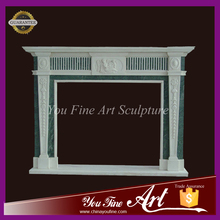 2016 New Modern Marble Indoor Fireplace