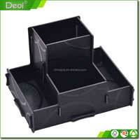 Factory wholesale compartment storage pvc plastic triangle storage box made in china