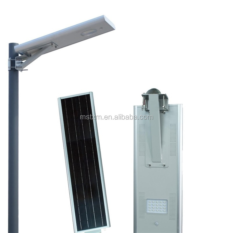Round shape and well preserved solar led street light all in one solar road light