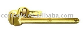 Non sparking safety Pipe Wrench ,safety tools,hamd tools,Wrench