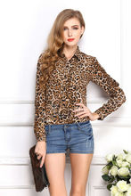 leopard shirts distribute blouse online shopping shirts