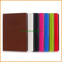 Hot selling Wallet Pu Leather protective shell cover Case for iPad Air 2