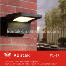 Solar Power LED Light Staircase solar garden wall lamp Yard Lamp plastic Path Step Stairs Floor Lighting