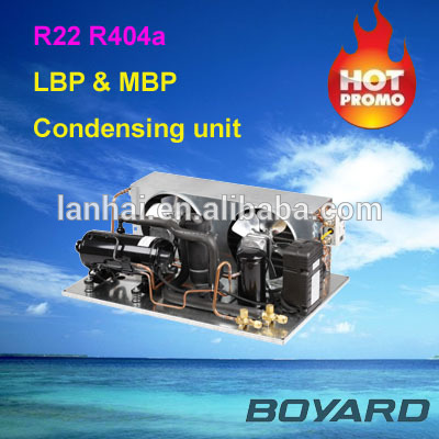 commercial refrigerator spare parts carrier hvac point cooling unit with R404A horizontal refrigeration compressor