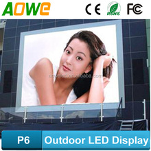 Outdoor full color led display screen led building signs