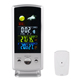 Digital Wireless Desktop Thermometer Barometer with Environment Temperature Display Dynamic Forecast Weather Station