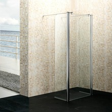 Bathroom wet room top cover shower screen