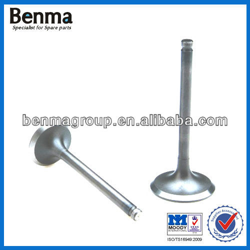 street bike intake valve,engine valve for various motorcycle with high quality and reasonable price