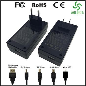 Newest 12V power supply mini online ups router wifi modem portable removable battery dc ups