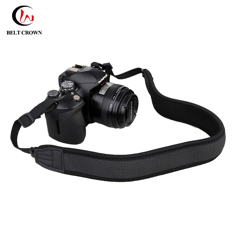 Adjustable neoprene neck camera shoulder strap camera accessory