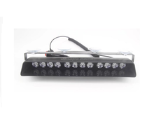 12v Green 12 x LED mini led police emergency led light bar