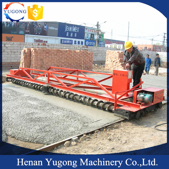 YUGONG 3-8m Concrete Cement sensor paver for sale with factory price