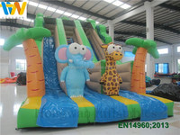 Good quality commercial inflatable vagina slide , giant inflatable slide for kids
