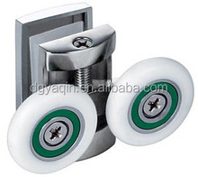 High quality 688 Double zinc alloy shower rollers for shower enclosure wheels shower door rollers