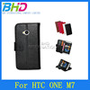 Flip leather cell phone cases and covers for HTC ONE M7
